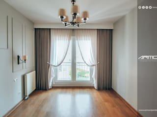 Armoni Perde Tasarım หน้าต่างและประตูผ้าม่าน ลินิน Beige