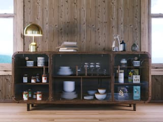 Mario Bernaudo Living roomCupboards & sideboards Solid Wood Wood effect