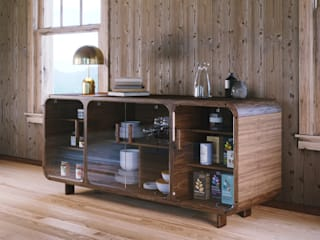 Mario Bernaudo Dining roomDressers & sideboards Engineered Wood Wood effect