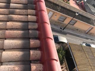 Reparación de tejado con tejas curvas tipo árabe EUROPA 9