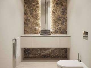 Montevideu Six Villas Casas de banho modernas por Padimat Design+Technic Moderno