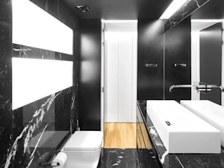 Padimat Design+Technic Baños modernos Cerámico Negro
