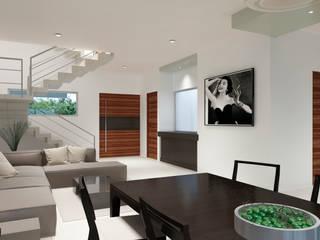 Minimalist dining room by CouturierStudio Minimalist