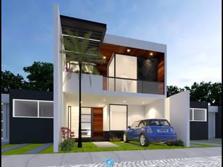 Remodelación Australis Casas modernas de Geometrica Arquitectura Moderno