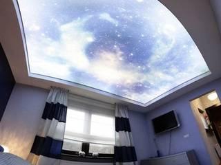 Lichtdecken Spanndecken Anbieter Moderne Schlafzimmer