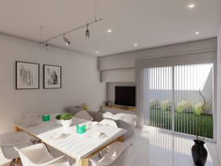 Minimalist living room by ARBOL Arquitectos Minimalist