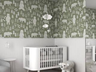 SPARK arquitetura Baby room White