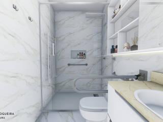 Jordana Nogueira Arquitetura Kamar Mandi Klasik Keramik White