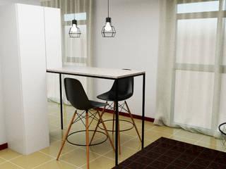 Departamento VZ Cocinas minimalistas de Arq. Melisa Cavallo Minimalista