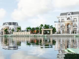 Thiết kế Biệt thự Tân Cổ Điển - Kiến Trúc - Bắc Ninh bởi Neo Classic Interior Design Kinh điển