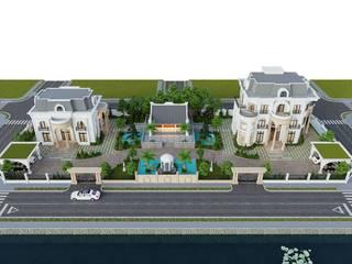 Thiết kế Biệt thự Tân Cổ Điển - Kiến Trúc - Bắc Ninh Nhà phong cách kinh điển bởi Neo Classic Interior Design Kinh điển