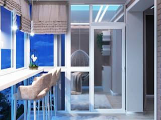 Дизайн балкона Студия дизайна Натали балконы