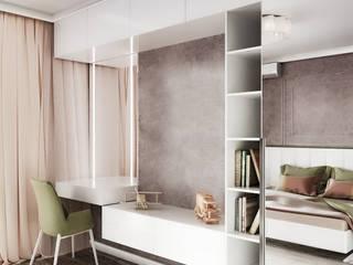 Дизайн спальной комнаты Студия дизайна Натали Спальня в стиле модерн