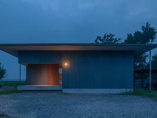 川沿いのカフェ 日本家屋・アジアの家 の 深山知子一級建築士事務所・アトリエレトノ 和風