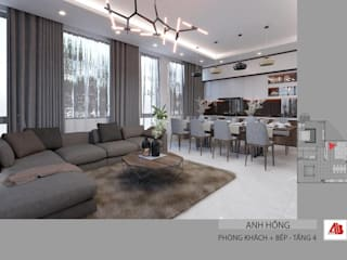 Thiết kế nội thất nhà ở tại Bắc Ninh Thiết Kế Nội Thất - ARTBOX
