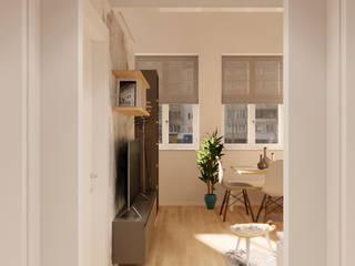 Appartamento FL Idea Design Factory Ingresso, Corridoio & Scale in stile moderno