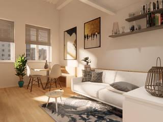Appartamento FL Idea Design Factory Soggiorno moderno