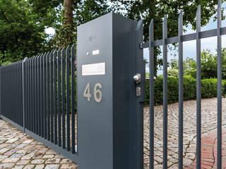Nordzaun Jardines minimalistas Aluminio/Cinc Gris