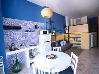 T_C_Interior_Design___ Comedores de estilo mediterráneo