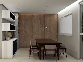 Colonial style dining room by SCK Arquitetos Colonial