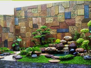 TUKANG TAMAN JAKARTA PUSAT Tukang Taman Jakarta Garden Accessories & decoration Batu Bata Multicolored