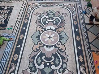 TUKANG TAMAN JAKARTA PUSAT Tukang Taman Jakarta Walls & flooringTiles Batu Multicolored