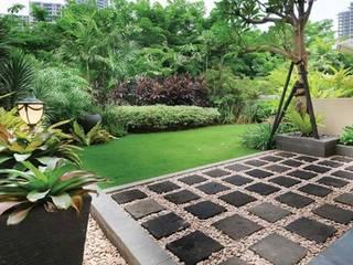 Tukang Taman Jakarta Сад в стиле минимализм Камень Зеленый