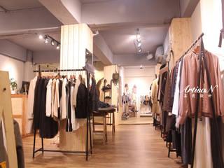 築夢!師大夜市鄉村風服飾店 芸匠室內裝修設計有限公司 辦公空間與店舖