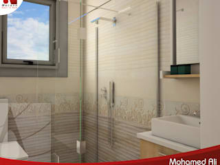 Al-Hoda-Design 現代浴室設計點子、靈感&圖片 Beige