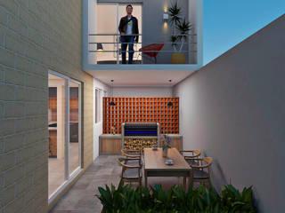 Remodelación Real del Valle Casas modernas de ARQUITECTOS AJ Moderno