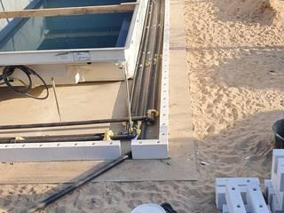 Schwimmbadbau Jens Pauling Dresden 家庭用プール 灰色
