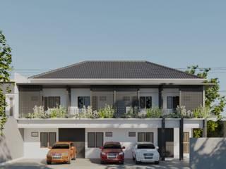 Pondok Jaya Boarding House DiArsitekin Ruang Komersial Tropis White