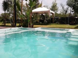 Kaland Water Piscinas de jardín Turquesa