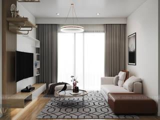 Combo nội thất chung cư 3 PN Vinhomes Smart City chỉ từ 79 triệu VNĐ Công ty nội thất ATZ LUXURY Living roomLighting