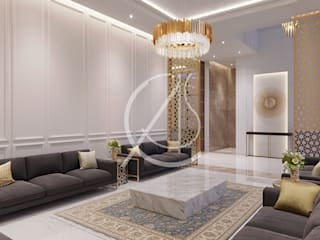 Classic style living room by Comelite Architecture, Structure and Interior Design Classic