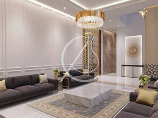 Klasyczny salon od Comelite Architecture, Structure and Interior Design Klasyczny