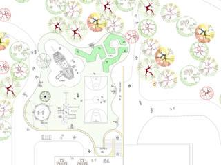 Araiza Pérez David APD Arquitectura Paisaje Diseño Jardines modernos Piedra Verde
