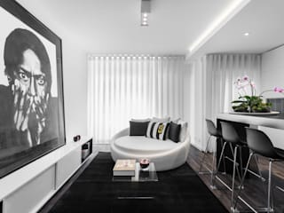 Porto Apartment Modern living room by GAVINHO Architecture & Interiors Modern