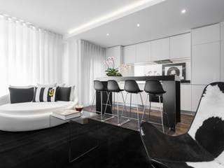 Porto Apartment Modern kitchen by GAVINHO Architecture & Interiors Modern