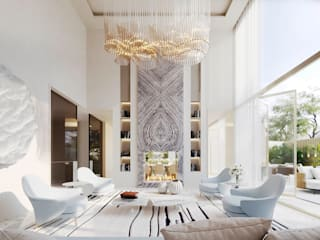Legacy Condominium Modern living room by GAVINHO Architecture & Interiors Modern