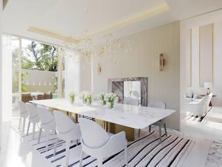 Legacy Condominium Modern dining room by GAVINHO Architecture & Interiors Modern