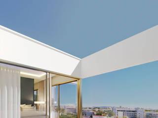 Legacy Condominium Modern style balcony, porch & terrace by GAVINHO Architecture & Interiors Modern