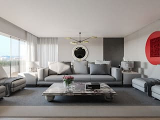 Modern living room by GAVINHO Architecture & Interiors Modern
