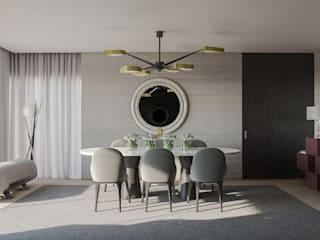 Modern dining room by GAVINHO Architecture & Interiors Modern