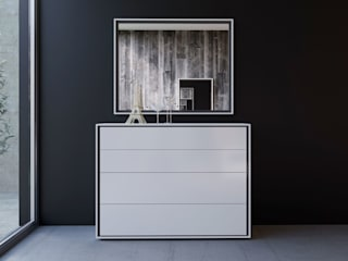 ITALIANELEMENTS BedroomWardrobes & closets MDF White