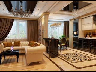 Neoclassik Barocc Decor-Stil-Grup Klassische Wohnzimmer