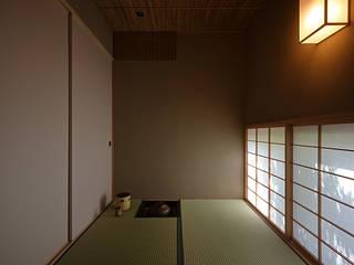 吉塚の家 モダンデザインの 多目的室 の 柳瀬真澄建築設計工房 Masumi Yanase Architect Office モダン