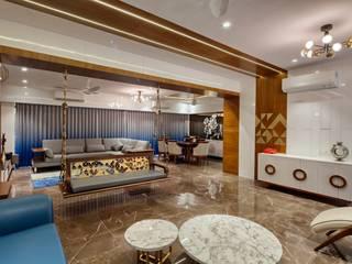 Salones de estilo moderno de malvigajjar Moderno