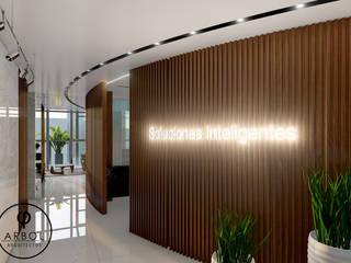Pasillos, vestíbulos y escaleras modernos de ARBOL Arquitectos Moderno