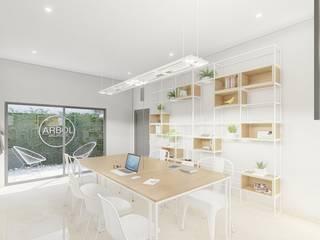 Estudios y despachosescandinavos de ARBOL Arquitectos Escandinavo